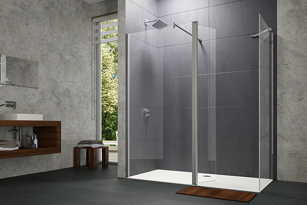 HÜPPE Dusche Walk-In Design pure