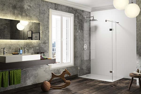 HÜPPE Dusche Walk-In Solva pure