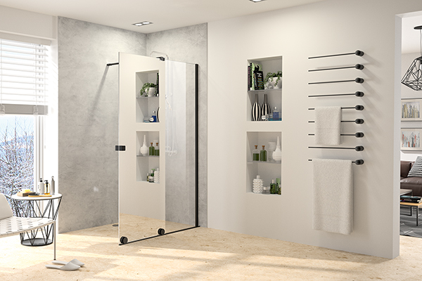 HÜPPE Dusche Walk-In Xtensa pure