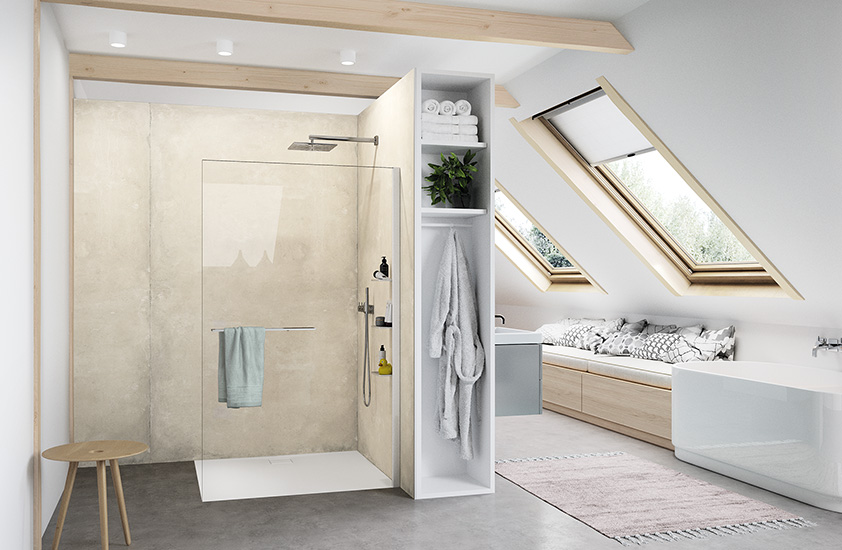 HÜPPE Select+ Walk-In Dusche