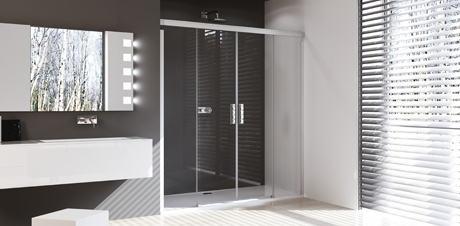 Requirements of an accessible shower area.